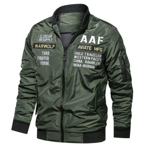 Blouson pilote BOMBER USAF