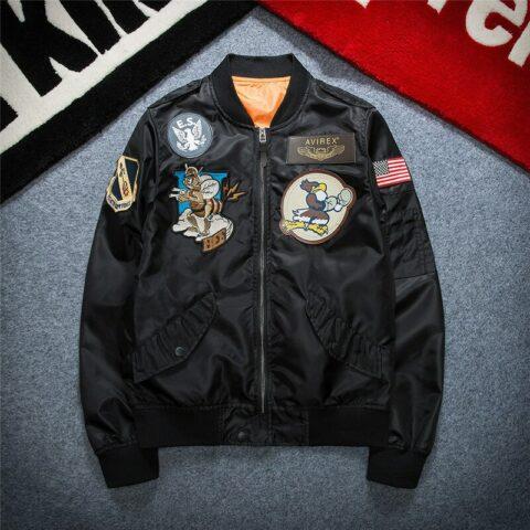Blouson pilote style bomber