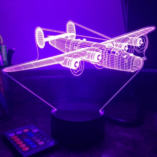 lampe led 3D UV B24