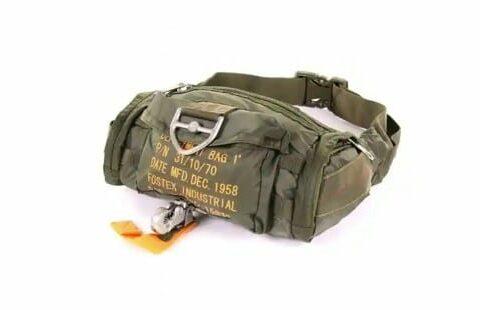 sac ceinture parachutiste