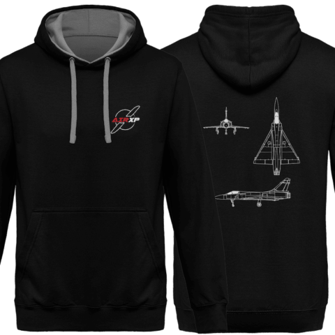 SWEAT CAPUCHE MIRAGE 2000 AIRXP