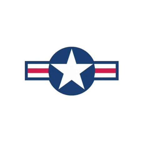 cocarde de us Air Force sticker