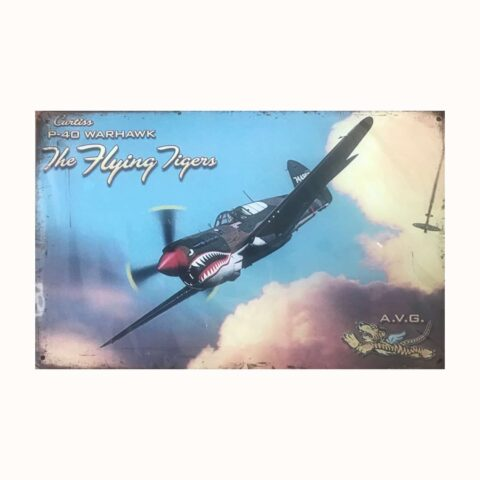 Plaque flying tigers