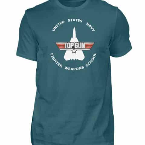 Tee-shirt Top Gun Fighter Weapons School - Men Basic Shirt-1096