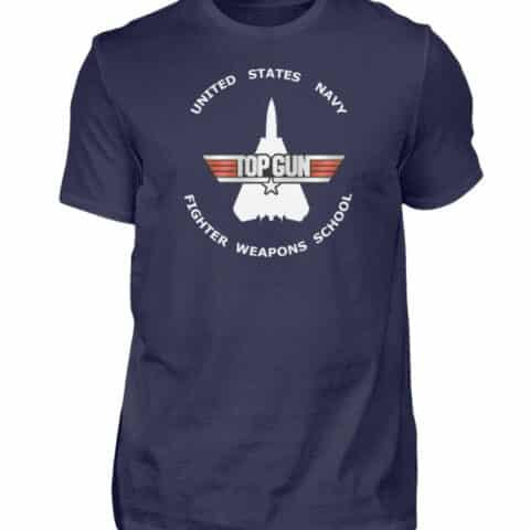 Tee-shirt Top Gun Fighter Weapons School - Men Basic Shirt-198