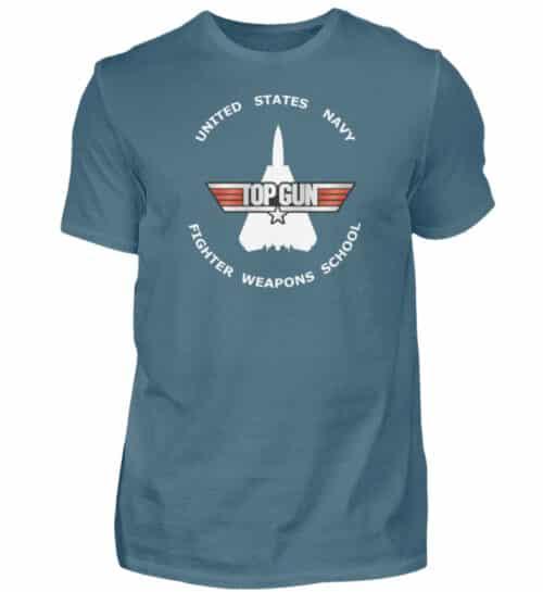 Tee-shirt Top Gun Fighter Weapons School - Men Basic Shirt-1230
