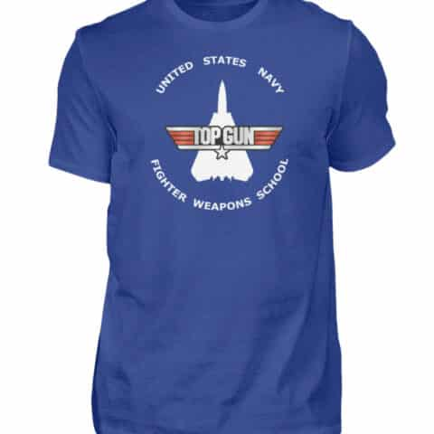 Tee-shirt Top Gun Fighter Weapons School - Men Basic Shirt-668