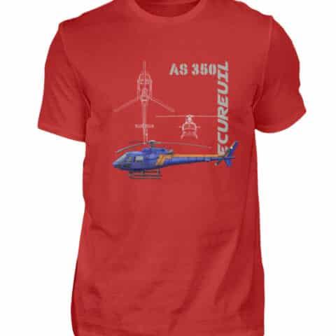 T-shirt Hélicoptère Ecureuil - Men Basic Shirt-4