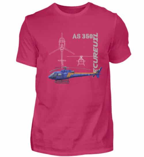T-shirt Hélicoptère Ecureuil - Men Basic Shirt-1216