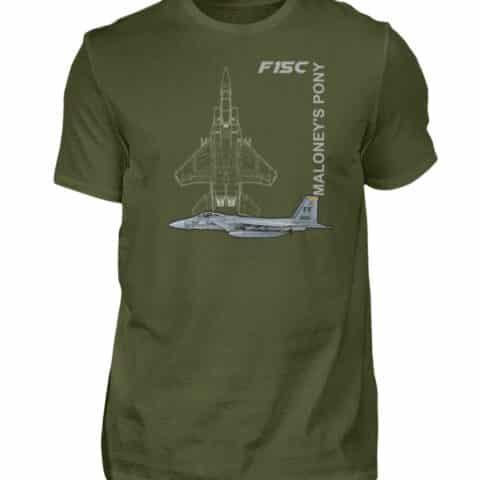 T-shirt F15-C EAGLE - Men Basic Shirt-1109