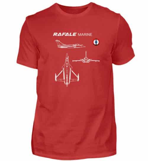 T-shirt RAFALE Marine - Men Basic Shirt-4