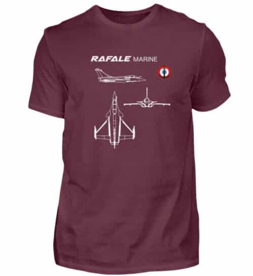 T-shirt RAFALE Marine - Men Basic Shirt-839