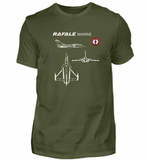 T-shirt RAFALE Marine - Men Basic Shirt-1109