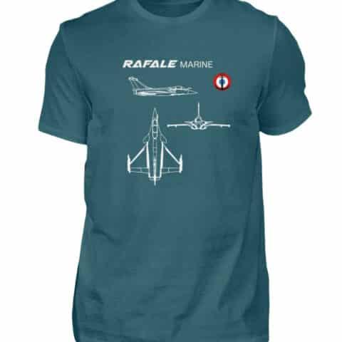 T-shirt RAFALE Marine - Men Basic Shirt-1096