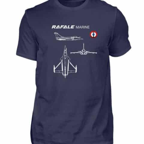 T-shirt RAFALE Marine - Men Basic Shirt-198