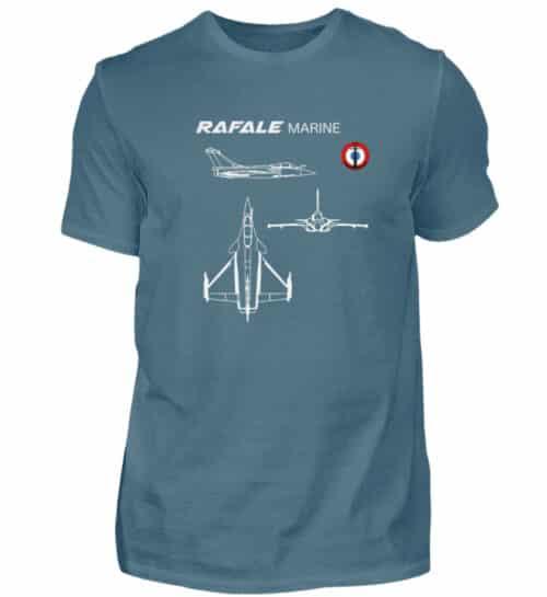 T-shirt RAFALE Marine - Men Basic Shirt-1230