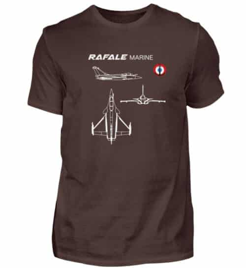 T-shirt RAFALE Marine - Men Basic Shirt-1074