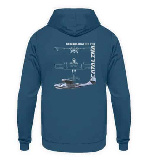 Sweatshirt Hydravion CATALINA - Unisex Hoodie-1461