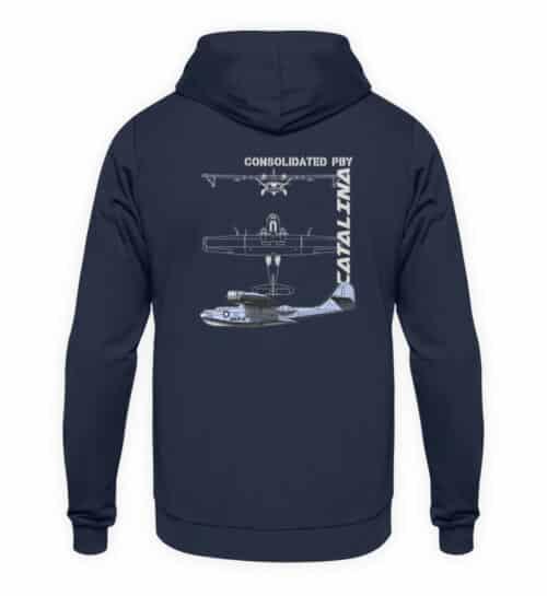 Sweatshirt Hydravion CATALINA - Unisex Hoodie-1698