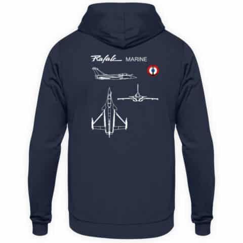 Sweatshirt Aeronavale RAFALE Marine - Unisex Hoodie-1698